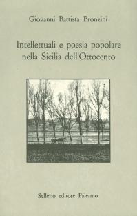 Intellettuali e poesia popolare nella Sicilia dell'Ottocento