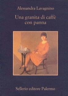 Una granita di caffè con panna